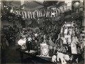 Army & Navy Stores, London, photograph of in store toy displays , c1920s