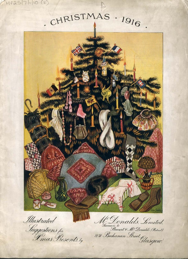 Ltd Christmas Catalog.House Of Fraser Archive Image Front Cover Of Mcdonalds