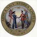Army and Navy Co-operative Stores logo, c.1900s