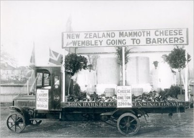 Barker's of Kensington cheese van, 1924